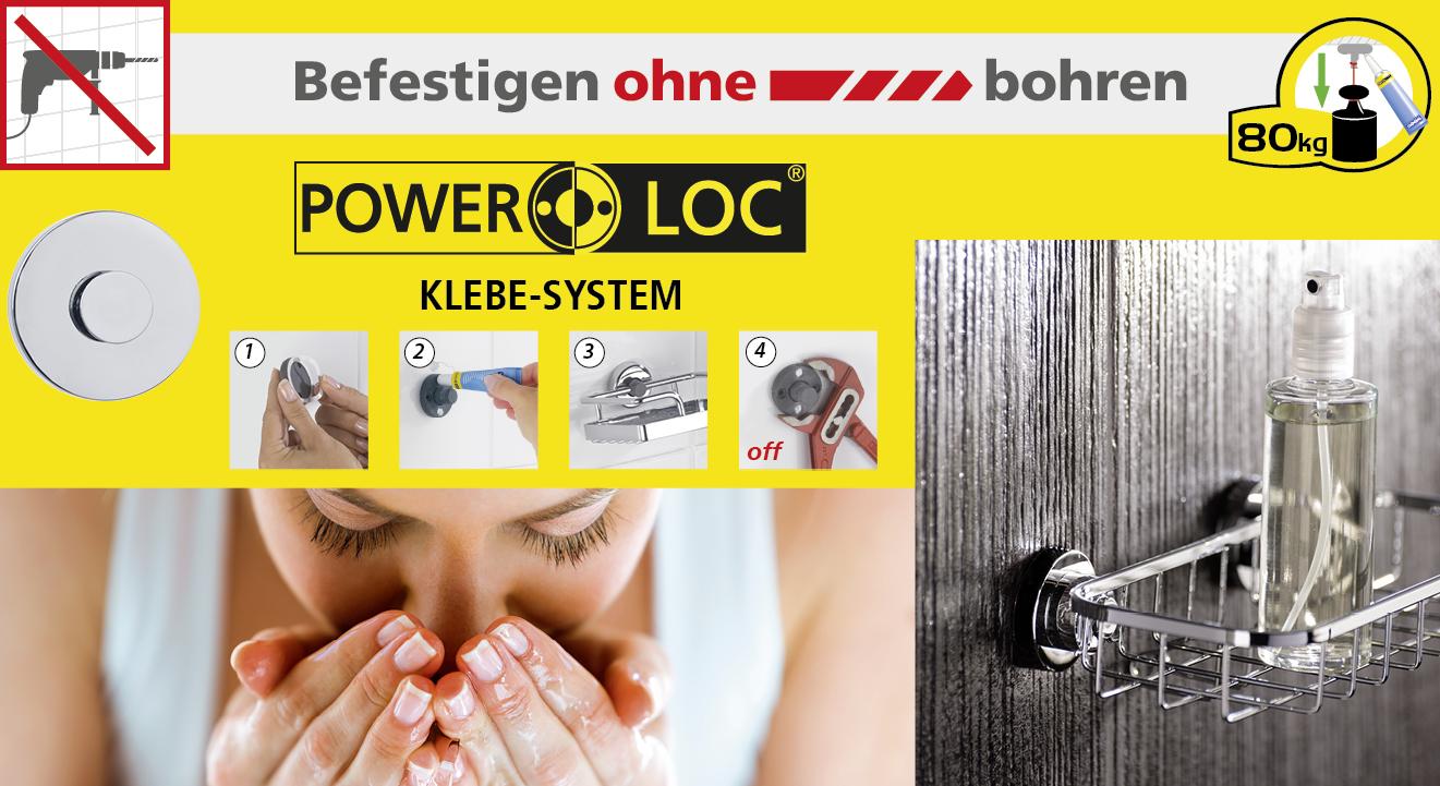 BEFESTIGEN OHNE BOHREN - POWER LOC