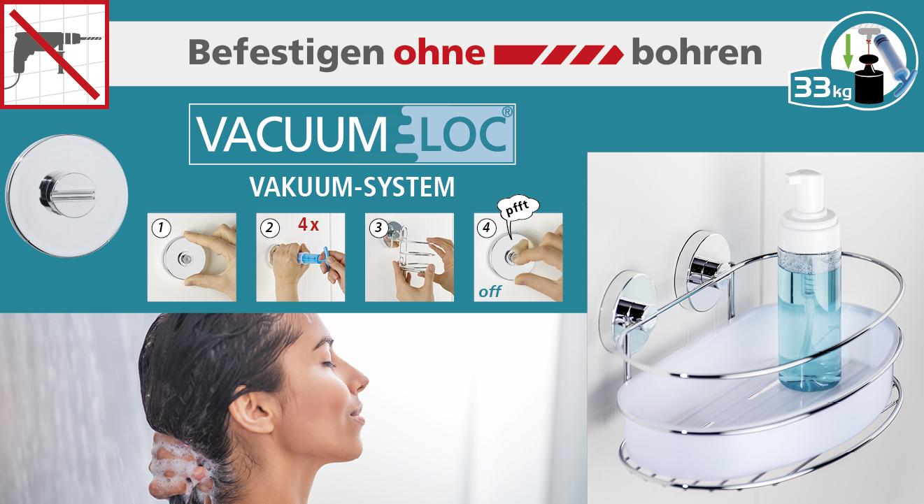 BEFESTIGEN OHNE BOHREN - VACUUM LOC