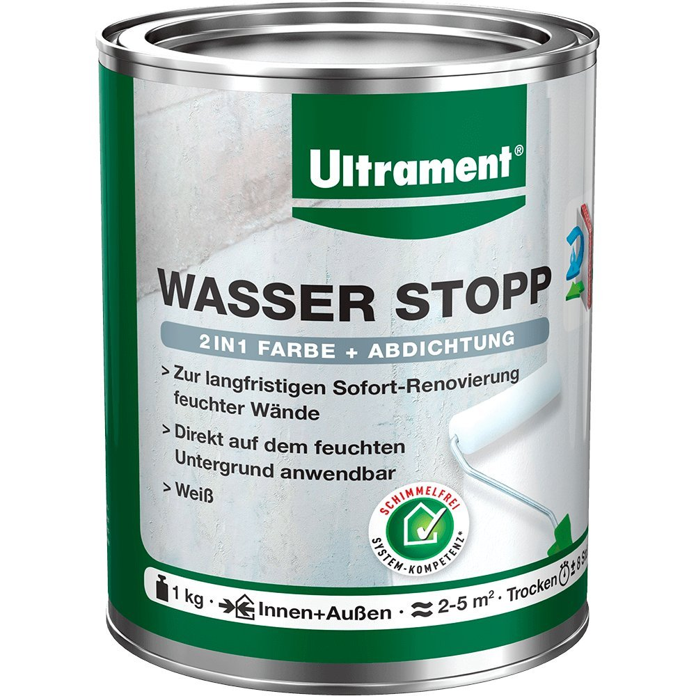Ultrament Wasser Stopp