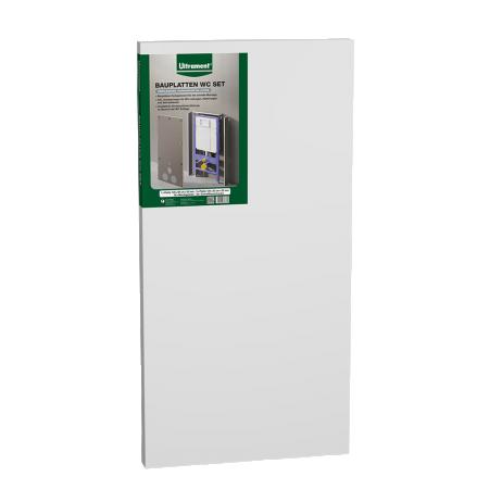 Ultrament Bauplatten WC SET