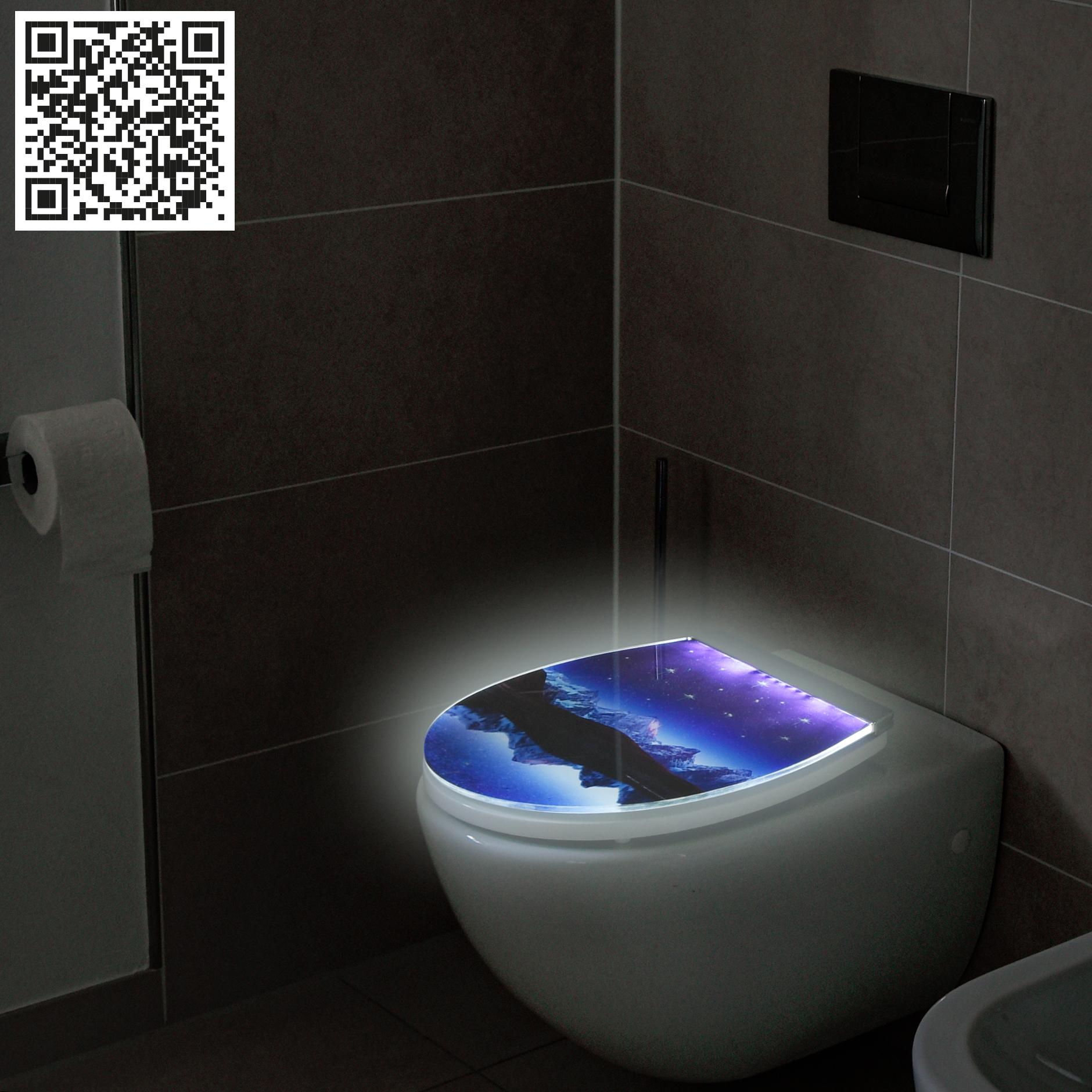 Beleuchtete WC-Sitze exklusiv bei Conmetall Meister