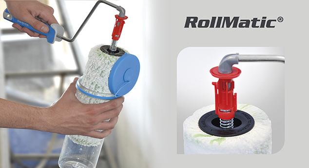 RollMatic® – der effizientere Farbroller