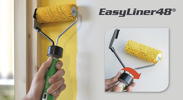 Nespoli EasyLiner® – saubere Kanten ohne Abkleben